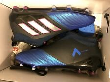 ADIDAS ACE 17+ PURECONTROL FG SOCCER CLEATS BLUE BLACK BB4312 boots messi 8