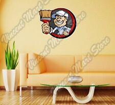 "Paint Paintbrush Artist Painter Canvas Wall Sticker Room Interior Decor 22"""