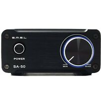 SMSL SA50 50Wx2 TDA7492 Class D Amplifier + Power Adapter (Black) FREE SHIPPING