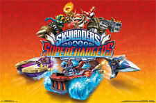 2015 SKYLANDERS SUPERCHARGERS VIDEO GAME KEY ART POSTER NEW 22X34 FREE SHIP