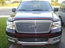 04 05 Ford F-150 Billet Grille Combo Insert W/Logo Cut