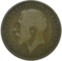 1919 HALF PENNY OF GEORGE V.     #WT15608
