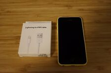 8/10 ACTIVATION ISSUE Apple  iPhone 5c - 32GB - Yellow Smartphone AUS STOCK