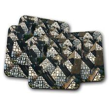 4 Set - Historic German Fachwerkhaus Buildings Coaster - Germany Cool Gift #8927