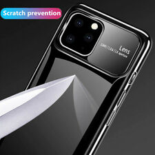 Slim Smooth Mirror Tempered Glass Hard Case Cover For Apple iPhone 11 Pro Max