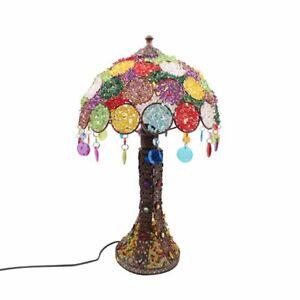 WOO 110-220V Table Lamp Desk Light Colorful Modern Style Decorative Fixture E14