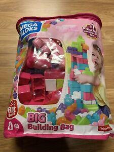 Mega Bloks First Builders Big Building Bag with Big Building Blocks, Building 80