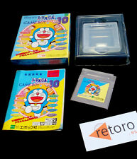Doraemon no GameBoy de Asobouyo DX10 Nintendo Gameboy COMPLETO Jap Buen estado