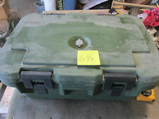 "Used Cambro Military Food Container Cooler  26x18x13"" OD Nice SC c"