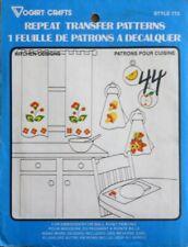 vintage vogart repeat transfer patterns -- kitchen designs style 773