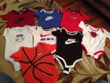 Mixed lot of 8 Air Jordan & Nike  creeper jumper ONE-PC Infant 0-9/ Months