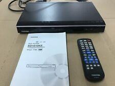 Toshiba SD1010KE Slim Line DVD-Player schwarz mit Fernbedienung