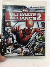 Marvel: Ultimate Alliance 2 (Sony PlayStation 3, 2009) PS3