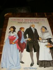 George Washington & His Family Paper Dolls in Full Color