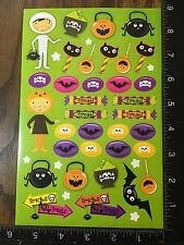 HALLOWEEN STICKERS TRICK OR TREAT, SHEET STICKERS BY CREATOLOGY  #TRICK15