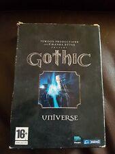 Gothic Universe PC Game, Original Box