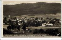 1935 Stempel Weissenstadt Bayern Postkarte Gesamtansicht Panorama Häuser Partie