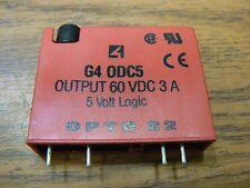 OPTO 22 G4 ODC5 OUTPUT MODULE 60 VDC 3 A 5 VOLT LOGIC