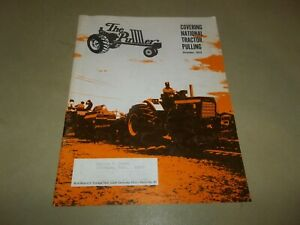 Vintage October 1973 The Puller Magazine NTPA Tractor Pulling Motorsports !