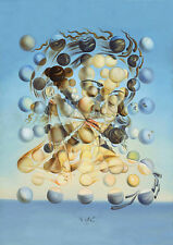 Salvador Dali spherical Galatea print on canvas reproduction  8X12 art poster