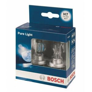 BOSCH Headlamp Halogen - H7 12V 55W PX26d - Pure Light 1987301406 [AU]