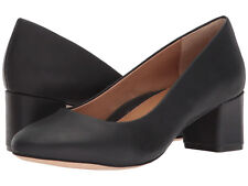 New In Box Womens Corso Como GWYNN Black Tulum Leather Pumps Heels Shoes