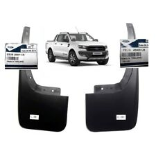 2 Genuine Ford Mud Flap Splash Guard Rear LH RH 2015-2018 Ranger T6 Wildtrak 4x4
