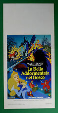 L26 LOCANDINA LA BELLA ADDORMENTATA NEL BOSCO WALT DISNEY BEAUTY SLEEPING 1