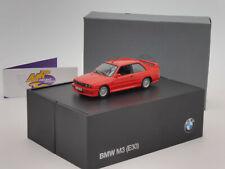 """Minichamps 80420149841 # BMW M3 (E30) Baujahr 1987 in """" rot """" 1:43 RAR ab 1,- €"""