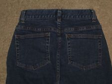 Caslon Size 0 Petite Slight Bootcut Dark Blue Stretch Denim Womens Jeans