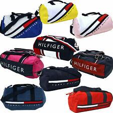 Tommy Hilfiger Mini Duffel Bag Unisex Mens Womens Children Shoulder Duffle Gym