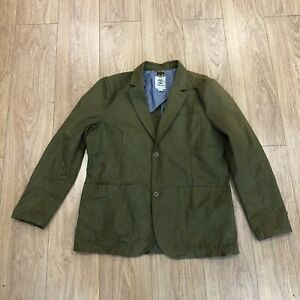 Mens Jacket XL Extra Large Tall Timberland Green B6078