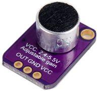 Électret Microphone Amplificateur - MAX4466 avec Réglable Gain