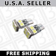 WHITE Error Free 8-SMD LED 2825  W5W License Plate Parking Eyelid Light Bulbs