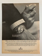 1977 Rolex Oyster Perpetual Superlative Chronometer DayJust Watch Print Ad