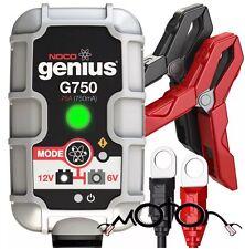 NOCO Genius G750UK 6V/12 .75A UltraSafe Smart Battery Charger