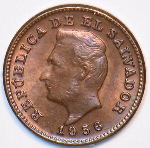 El Salvador 1956 Centavo 194547 combine
