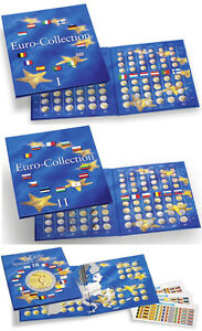 LIMITED OFFER - Set of 3 Euro-Collection Coin Albums