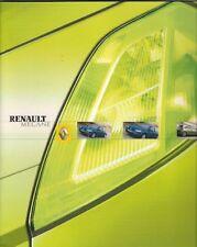 Renault Megane Sport Hatch & 5-dr 2003-04 UK Market Sales Brochure