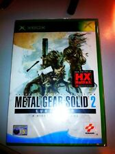 METAL GEAR SOLID 2  SUBSTANCE  XBOX ITA NUOVO RARO SIGILLATO