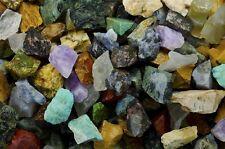African Premium Mix -  2 Pounds Tumble Rough Rocks & Stones for Tumbler