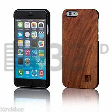 32nd Ultra Slim Wooden Back Case Cover for Apple iPhone 5/5s Real Wood Cherry