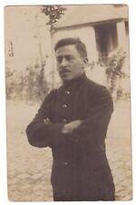 Foto AK - französischer Gefangener in Hannover -- um 1917