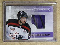 08-09 ITG H&P Heroes Top Prospects Game-Used Emblem PATRICK KANE Gold 1/1