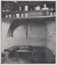 D4003 Croazia - Cherso - Casa del Popolo - Stampa d'epoca - 1939 vintage print