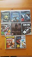 Videospiel Sammlung:8 PS3 Spiele NEU in Folie (Bioshock 2, Need for Speed...)