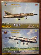 Dual Combo Dassault Mirage III V-01/V-02 ( Vtol ) Modelsvit 1/72 2 Plastic Kits