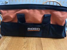 Brand New Ridgid Medium Heavy Duty 2 Pocket Contractor Tool Bag