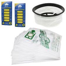 Hoover Aspiradora 30.5cm Filtro 10 Bolsas & Ambientadores Kit Para Numatic