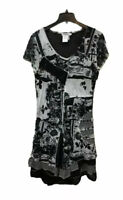 Dzhavael Couture Women's XL Patchwork Art To Wear Dress Made in France